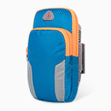 Universal Gym Sport Running Jog Arm Band Strap Case Diamond B01 Blue
